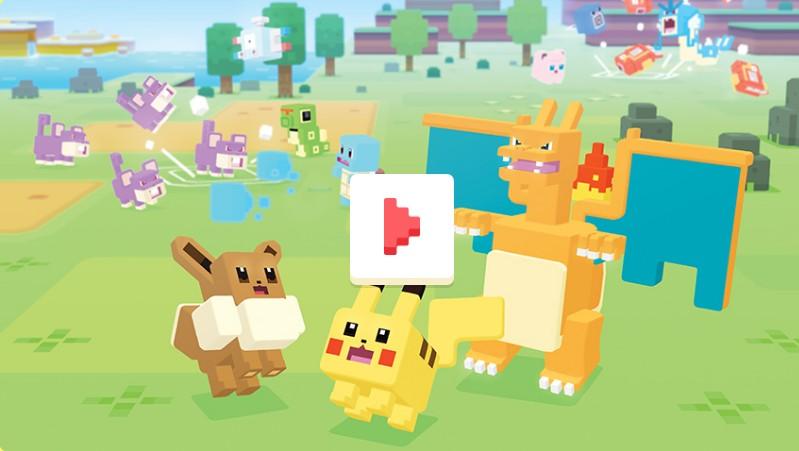 Pokemon Quest精灵宝可梦探险最新游戏视频 宣传预告片